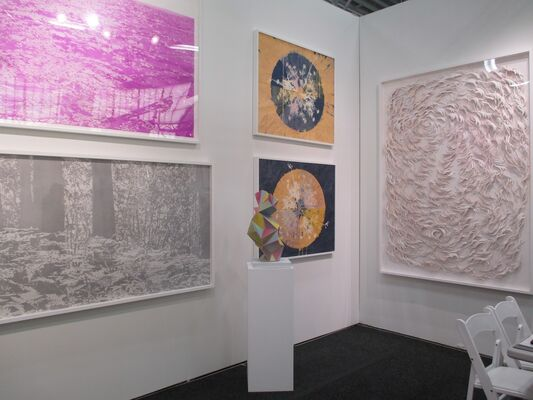 K. Imperial Fine Art at Art on Paper New York 2016, installation view