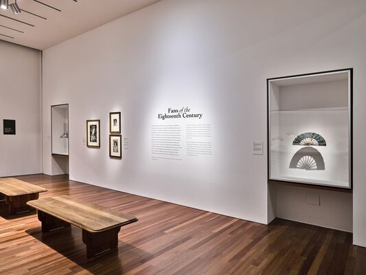 Fans of the Eighteenth Century, installation view