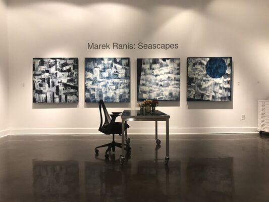 Marek Ranis: Seascapes, installation view