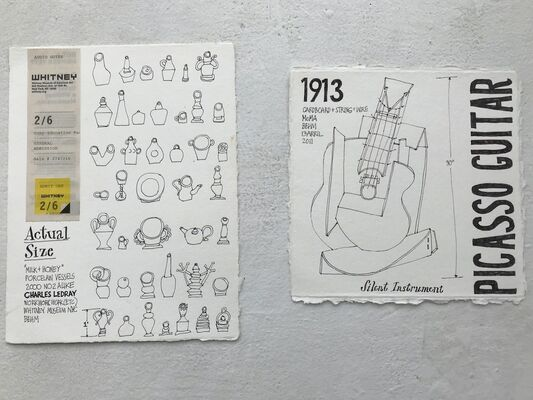 Museum Diaries, installation view