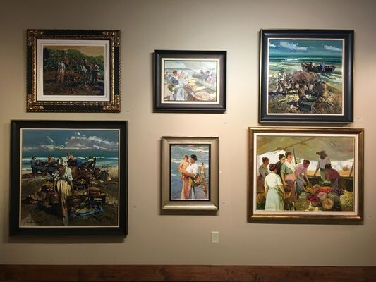 The Art of Spain, installation view