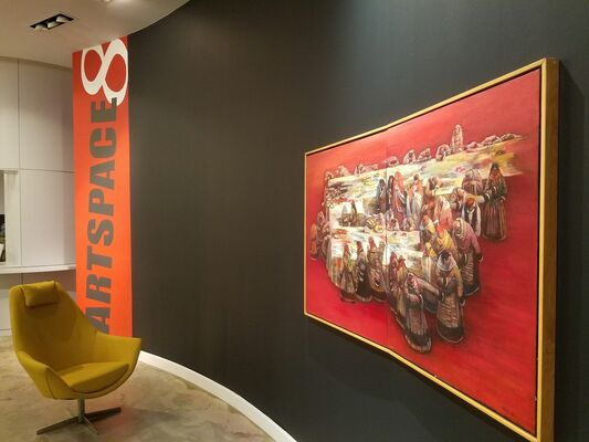 Li Hu: A Visual Summary, installation view