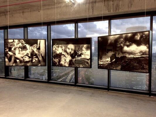 PHOTO ISRAEL Israel Photography Festival 2017, Midtown, Tel-Aviv, installation view