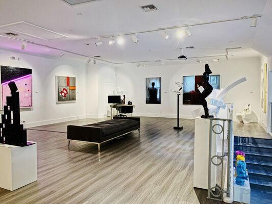 March Highlights, installation view