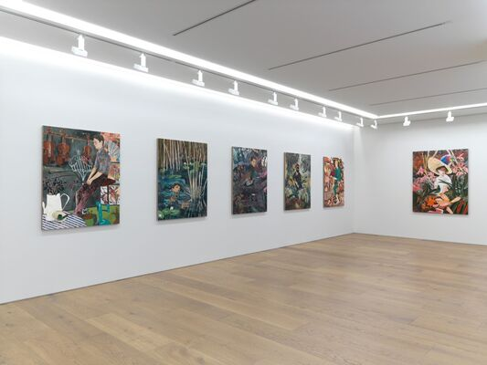 "HERNAN BAS ""INSECTS FROM ABROAD"", installation view"