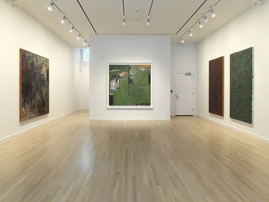 Milton Resnick Paintings: 1937-1987, installation view