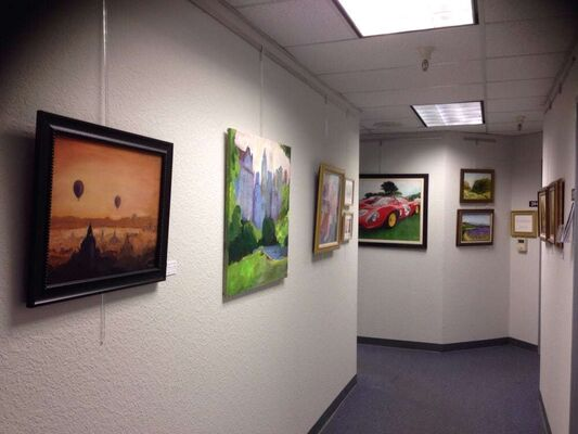 Silicon Valley Open Studios - Art Center of Redwood City and San Carlos, installation view