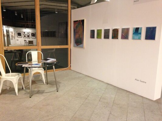 Galería Combustión Espontánea at JUSTMAD6, installation view