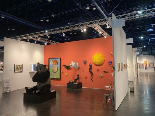 Adelson Galleries at Texas Contemporary 2019, installation view