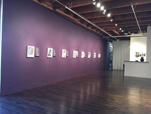 Kim Piotrowski: Now That the Sky Has Fallen, installation view