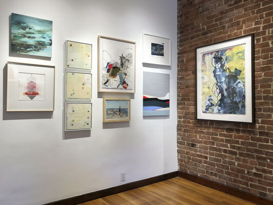 On the Rocks, installation view