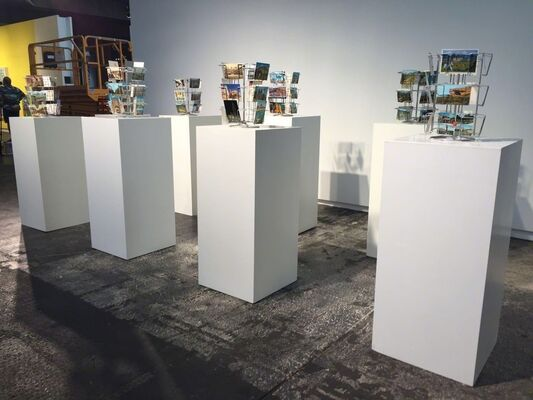 Athr Gallery at abc berlin Contemporary 2016, installation view