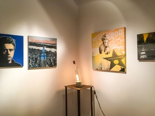 It's a small Christmas, installation view