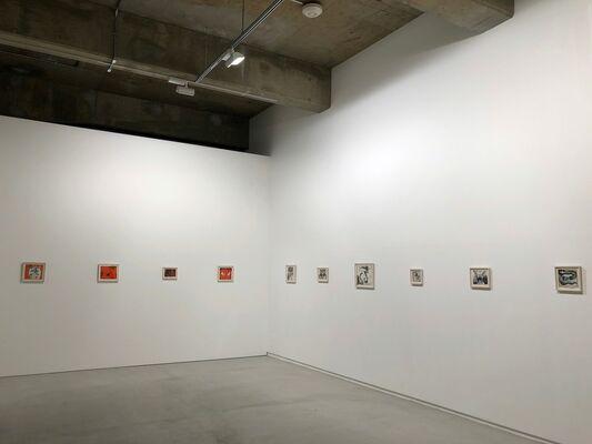 Alex Katz & Francesco Clemente, curated by Jimena López, installation view