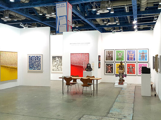 Art Works Paris Seoul Gallery at KIAF 2018, installation view