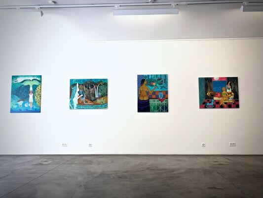 Shared Worlds, installation view