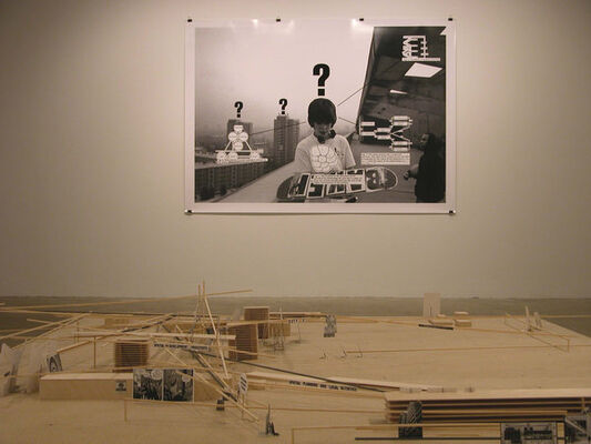 """Jakob Kolding - """"Untitled '06"""", installation view"""