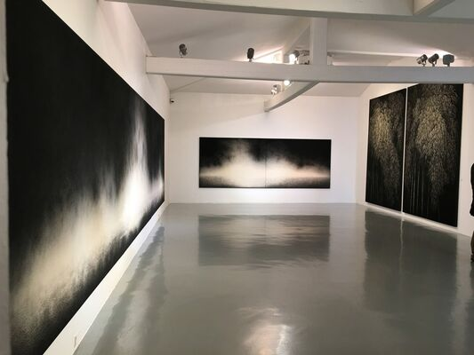 EARTH & FIRE, installation view