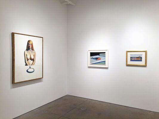 Wayne Thiebaud, installation view
