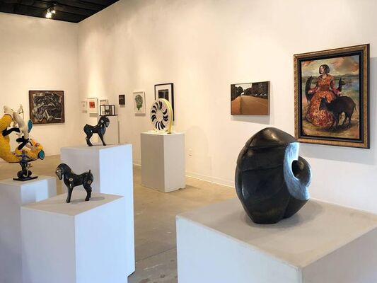 John Lee Matney LTD Art Show and Fundraiser, installation view