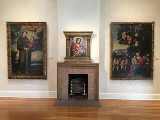 24th Annual Art of Devotion: Historic Art of the Americas, installation view