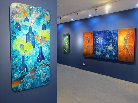 Parallel Universes, installation view