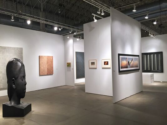 Galerie Lelong at EXPO CHICAGO 2016, installation view