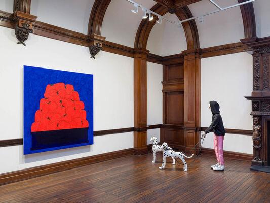 "Raphaela Simon: Erdbeeren"", installation view"