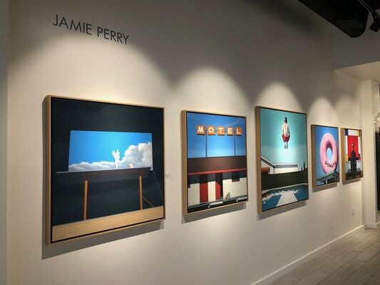 Jamie Perry, installation view
