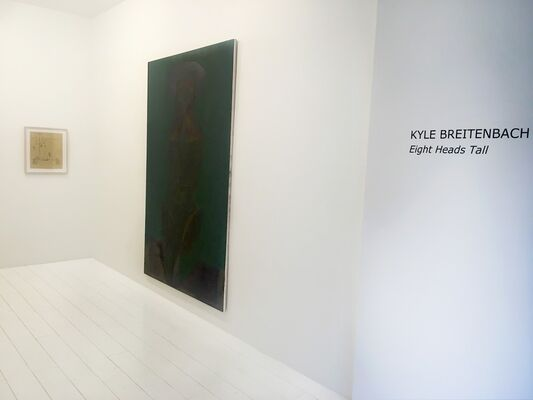 Eight Heads Tall, installation view