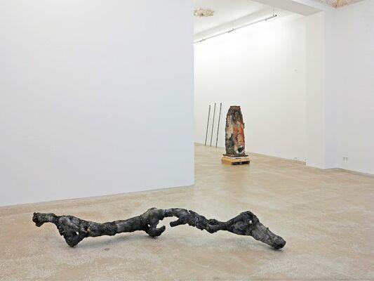 Jörg Gelbke: lasting embers, installation view