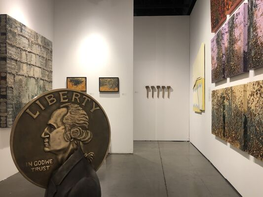 Alvarez Gallery at Seattle Art Fair 2019, installation view