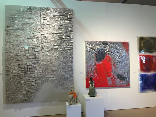 Donghwa Ode Gallery at ArtHamptons 2016, installation view