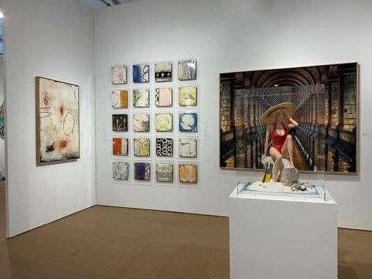 K + Y Gallery at Palm Beach Modern + Contemporary  |  Art Wynwood, installation view