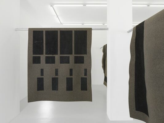 """Emilie Ding : """"Books of sleep"""", installation view"""