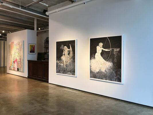 Starlets, installation view