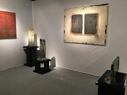 Galerie Capazza at Art Élysées–Art & Design 2018, installation view
