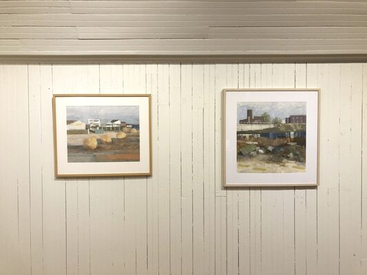 CHARLES WINHELD City and Sea, installation view