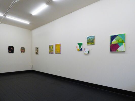 Somewhere Nearby, installation view