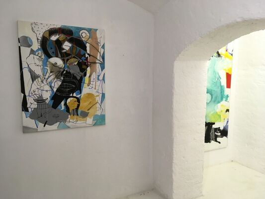GREGOR HILTNER Interventionen, installation view