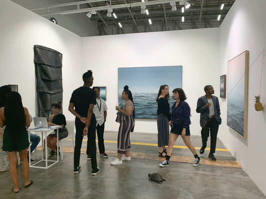 Suburbia Contemporary Art at Investec Cape Town Art Fair 2020, installation view