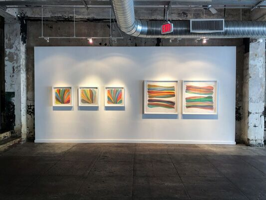 Chromatic Space, installation view