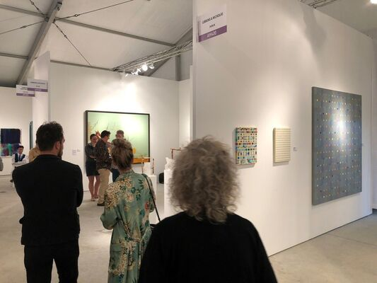 Gibbons & Nicholas at Art Miami 2018, installation view