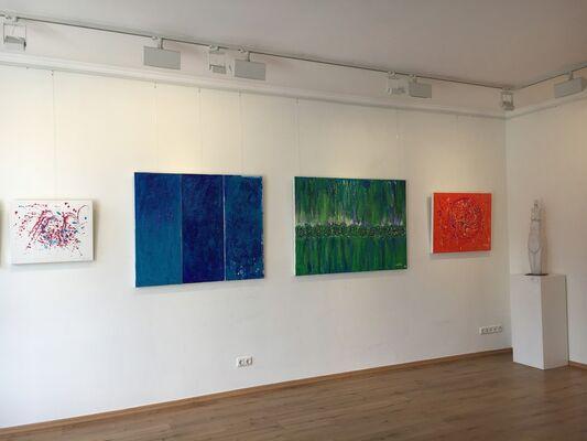 Celebrating Color: Sarit Lichtenstein & Uli Weigelt, installation view