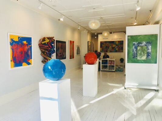 COLORS –Featuring works by Bert Stern & Nathan Slate Joseph, installation view