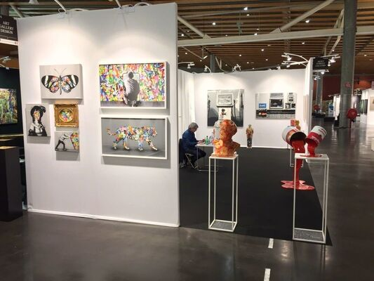 Modus Art Gallery at Art Up! Lille 2018, installation view