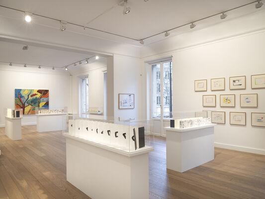 Etel Adnan : Leporellos, installation view