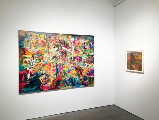 Jack Whitten: The Sixties, installation view