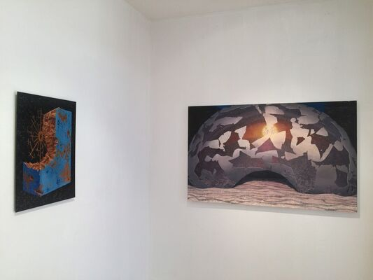 Edge of Today :: Todd Baxter / Brian Cooper / Daniel Dove / Siobhan McClure, installation view