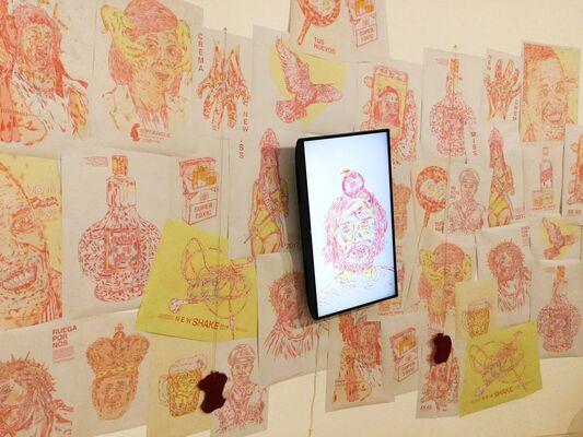 RV Cultura e Arte at Drawing Room Lisboa 2018, installation view